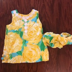 Lilly Pulitzer baby dress First Impression 12-18m